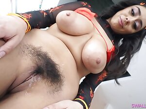 Violet Myers is a big titted, white bitch, who likes to suck a massive, black load of shit